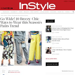 Shop Wide-Leg Pants for Spring