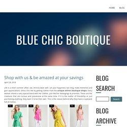 Buy Unique Online Boutique Shops