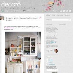 Shopgirl Visits: Samantha Robinson Studio