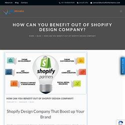 Choose Top Shopify Design Company
