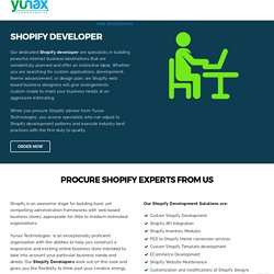 Hire shopify Developers for marketing your online Store