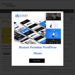 23 Best Free Shopify Themes 2021 For Your eCommerce Website