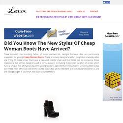 Cheap Woman Boots
