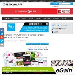 Shopmium lève 4,3 millions d'euros pour son application de drive-to-store