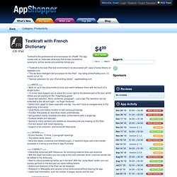 Textkraft French (Productivity)