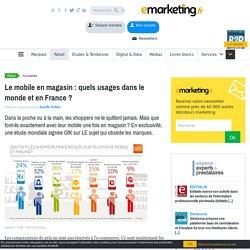 Etude GFK : shoppers et mobile la compétition online dans les rayons