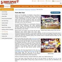 Tsim Sha Tsui, Shoppers' Paradise, Avenue of Stars, Hong Kong