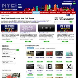 New York Shopping and New York Stores | NYC.com - Official Site | Manhattan Stores