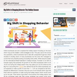 Big shifts in online shopping behavior this holiday season