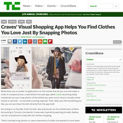 Craves' Visual Shopping App Helps You Find Clothes You Love Just By Snapping Photos