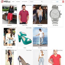 Online Shopping India, Shop for Shoes, Clothing, Jewelery, Bags and Accessories | Yebhi.com