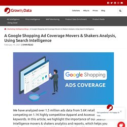 A Google Shopping Ad Coverage Movers & Shakers Analysis