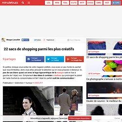 22 sacs de shopping parmi les plus créatifs