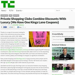 Private Shopping Clubs Combine Discounts With Luxury (We Have On