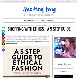 A 5 Step Guide - Tiny Twig Goes Out on a LimbTiny Twi...