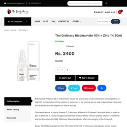The Ordinar-The Beauty Garage(Online Shopping for Original Products Skincare, Haircare)