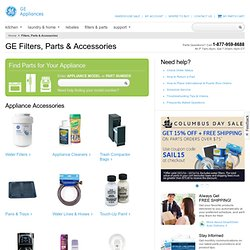 GE Parts & Accessories Shopping Cart