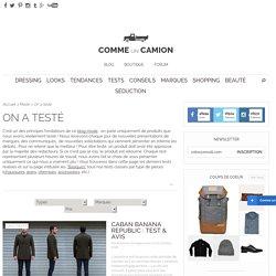 Blog mode homme: idées shopping, test produits comme sneakers vintage