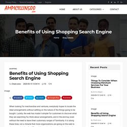 Shopping Search Engine
