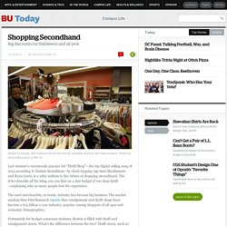 Shopping Secondhand