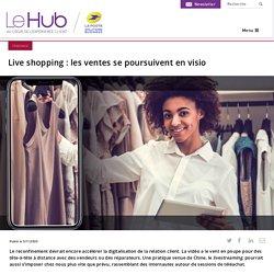 Live shopping : les ventes se poursuivent en visio