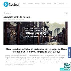 Make Your Online Store- Nwebkart