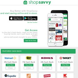 ShopSavvy - Home | iPhone and Android Barcode Scanning & Shopping Tool