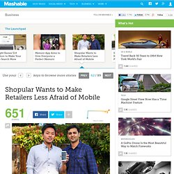 Shopular Wants to Make Retailers Less Afraid of Mobile