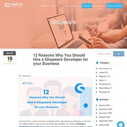 Why You Should Hire a Shopware Developer for your Business