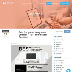 Best Shopware Integration Strategy - Fuel Your Digital Success