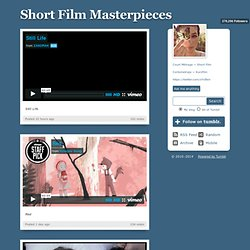 Short Film Masterpieces