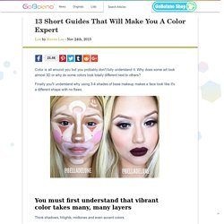 13 Short Guides That Will Make You A Color Expert