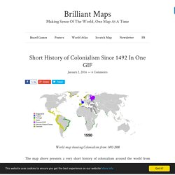 Short History of Colonialism Since 1492 In One GIF