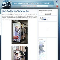 Life's Too Short For The Wrong Job