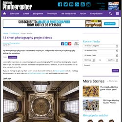 Short photography project ideas