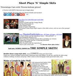 Short Plays 'N' Simple Skits
