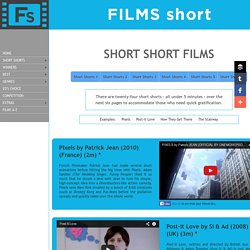 Short Short Films - Short Short Films on FILMS short