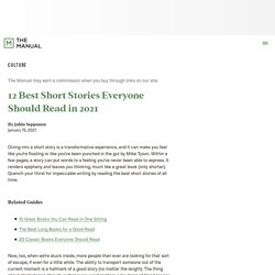 12 Best Short Stories Everyone Should Read in 2021