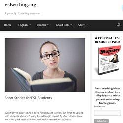 Short Stories for ESL students