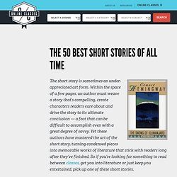 The 50 Best Short Stories of All Time