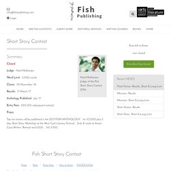 Short Story Contest - Fish Publishing Fish Publishing