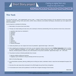 Short Story Project: The Task