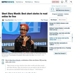 Short Story Month: Best short stories to read online for free