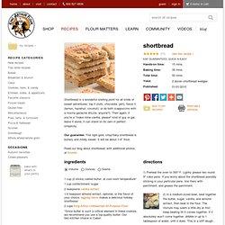 Shortbread: King Arthur Flour