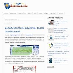 shortcutworld: Un site qui assemble tous les raccourcis clavier