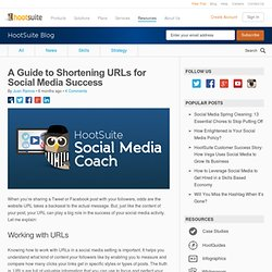 A Guide to Shortening URLs for Social Media Success