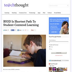 BYOD Is Shortest Path To Student-Centered Learning