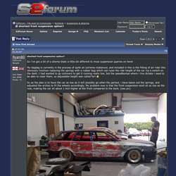 shortest front suspension option? - S2Forum - The Audi S2 Community