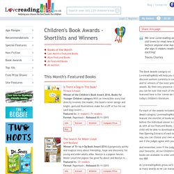 Children's Book Awards - Shortlists and Winners - Books Lovereading4kids UK