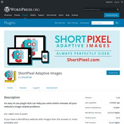 ShortPixel Adaptive Images – WordPress plugin